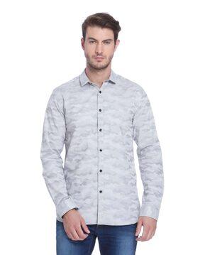 Jack & Jones Men Slim Fit Casual shirt - Grey