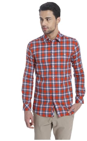 Jack & Jones Men Slim Fit Casual shirt - Red