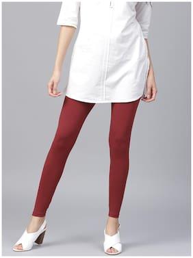 Cotton Solid Leggings 1