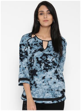 Women Floral Straight Kurti ,Pack Of 1