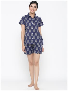 Printed Top and Shorts Set ,Pack Of 2