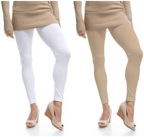 Cotton Solid Leggings 2