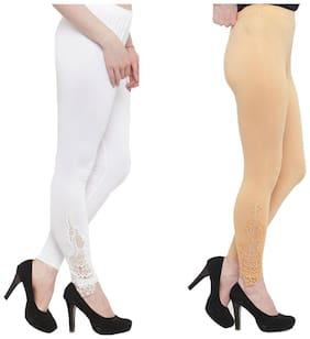 JANVII Cotton Leggings - Multi