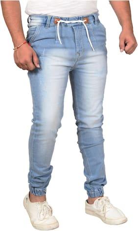 Jaunier Men Blue Jogger Jeans