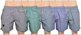 Jet Men Multi Regular Fit Regular Shorts