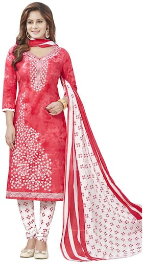 Women Cotton Dress Material Pack of 3