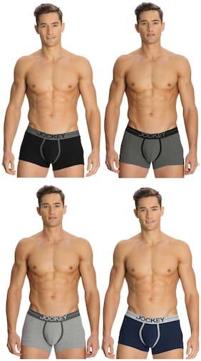Men Cotton Solid Underwear