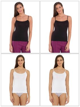 Jockey Basic Color Camisole Combo - Pack of 4 - Style Number : 1805