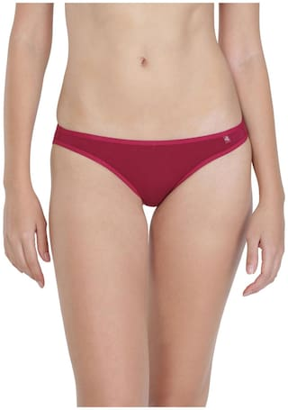 Jockey Beet Red Bikini : Style Number - SS02