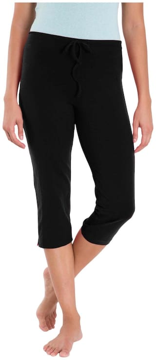 Jockey Black Capri Pants - Style Number : 1300