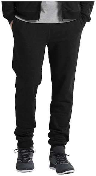 Jockey Black Melange Lounge Pants - Style Number : US90