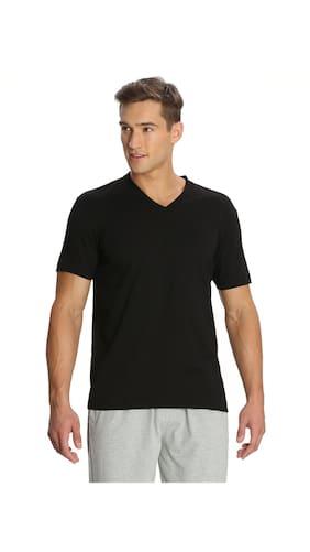 Buy jockey black v neck t shirt style number 2726 online for Jockey v neck shirt