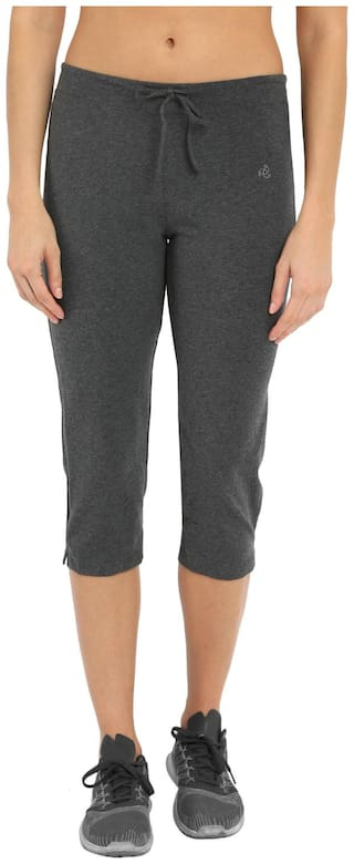 Jockey Charcoal Melange Capri Pants - Style Number : 1300