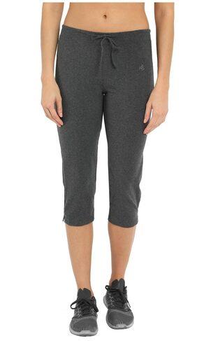 Jockey Charcoal Melange Capri Pants - Style Number : 1300
