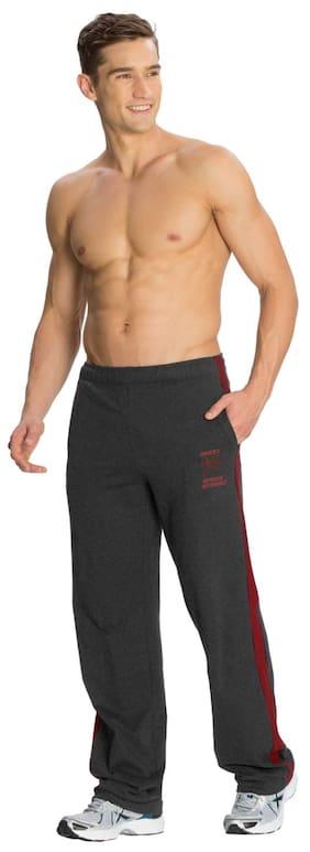 Jockey Men Cotton Track Pants - Black