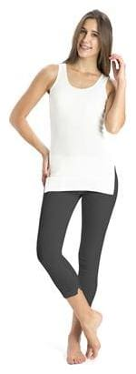 Jockey Charcoal Melange Thermal Leggings - Style Number 2520