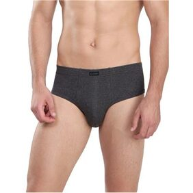 Jockey Charcoal Melange Contour Brief Pack of 2 - Style Number 1009