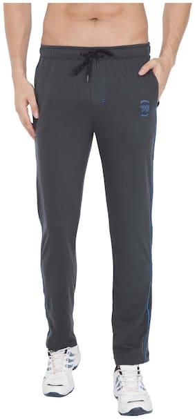 Regular Fit Cotton Blend Track Pants Pack Of 1