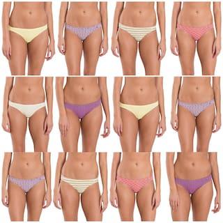 Jockey Cotton Low waist Women Panties Assorted