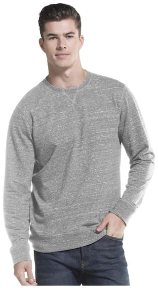92eeb8cd434 Buy Jockey Men Cotton Sweatshirt - Grey Online for Men |Paytm Mall