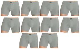 Men Cotton Solid Underwear ,Pack Of 10
