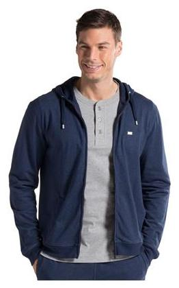 Jockey Men Cotton Hoodie - Blue