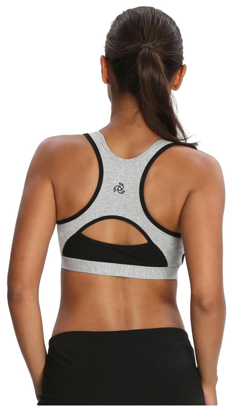 679ffa04d0 Buy Jockey Light Grey Melange   Black Power Back Padded Active Bra - Style  Number 1380 Online at Low Prices in India - Paytmmall.com
