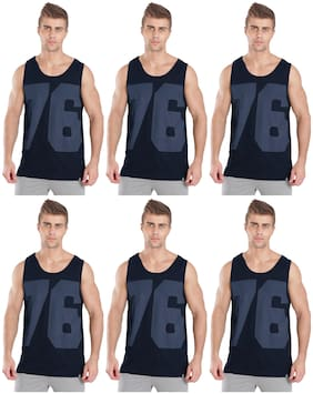 Cotton Tank ,Pack Of 6