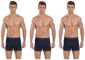 Men Cotton Solid Underwear ,Pack Of 3