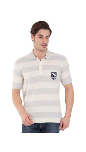 Buy jockey platinum ecru half sleeve polo t shirt for Jockey full sleeve t shirts india