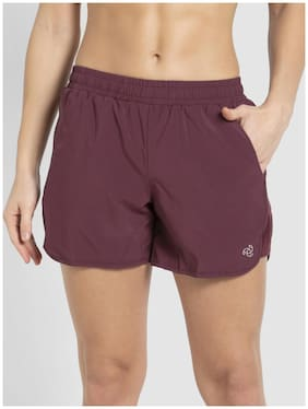 Women Polyester Regular Fit Shorts ,Pack Of 1