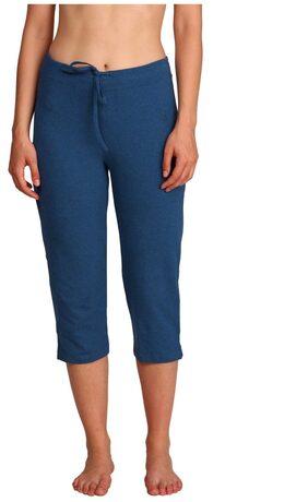 Jockey Women Solid Shorts - Blue