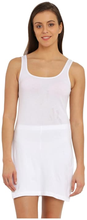 Jockey White Long Camisole - Style Number : 1488