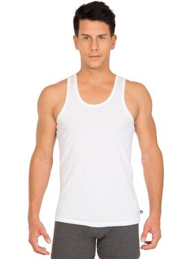 Jockey White Basic Undershirt Pack Of 3 - Style Number 8820