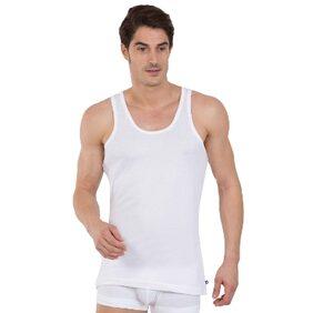 Jockey White Basic Undershirt Pack Of 3 - Style Number 8820