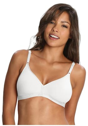 3cfc136f3d6 Jockey White Beginners Bra - Style Number 1581