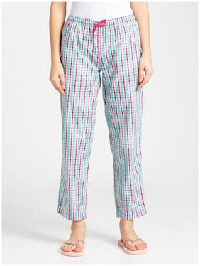 Checked Pyjama ,Pack Of 1