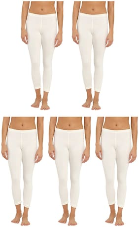 Women Cotton Thermal ,Pack Of 5