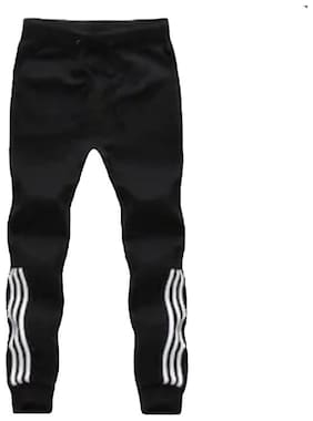 Slim Fit Cotton Blend Track Pants Pack Of 1