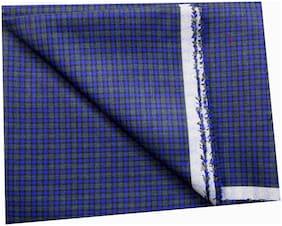 John phillipe Cotton Chevron Shirt Fabric  (Unstitched)