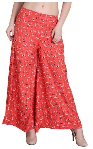 Orange Trousers Jollify Regular Women's Fit qYHHp0w