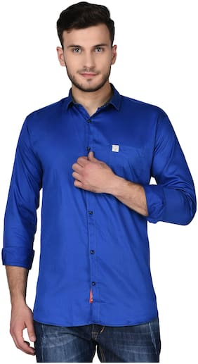 Jugend Men Slim fit Casual shirt - Blue
