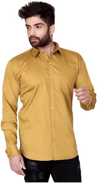 Jugend Men Slim fit Casual shirt - Beige