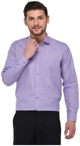 Jugend Men Regular fit Formal Shirt - Purple