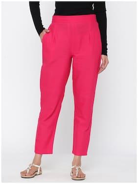 Women Cotton Ethnic Pants ,Pack Of 1