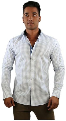 Just Differ Men Slim fit Casual shirt - Grey