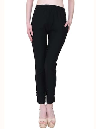Lam Solid Royal Blue KA Pant Fashion amp; Palazzo Black For Lam Women ntRwwY7x0q