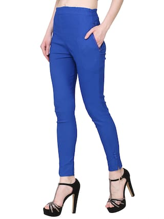 Lam For Fashion Lam KA Palazzo Royal Blue Women Pant Solid R7qU6wf
