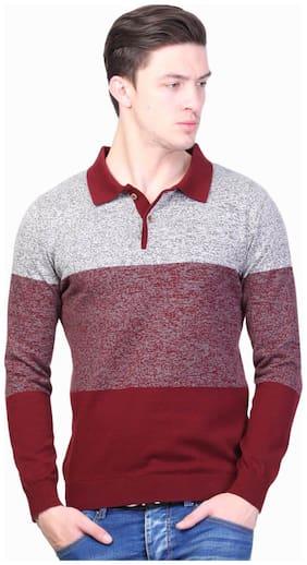 Men Cotton Full Sleeves Sweater