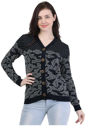 Women Floral Sweater